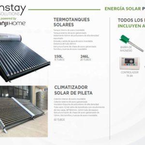 Termotanques Solares y Climatizacion de Piscinas Greenstay Solutions