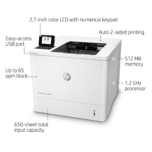 Impresora Laser HP EnterPrise M608DN